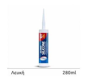 Vitex SILOMER 101 Λευκή 280ml-Σιλικόνη, ενός συστατικού