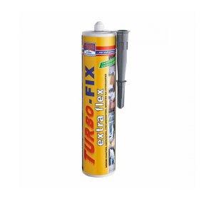TURBO-FIX extra flex 290ml Γκρι Σφραγιστικό μόνιμα ελαστικό