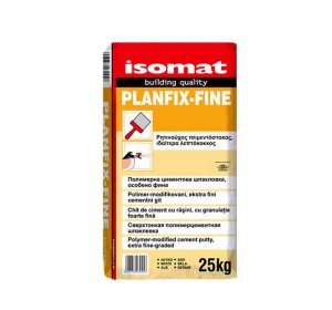 PLANFIX-FINE Grey 25kg Polymer-modified, extra fine-grained cement putty