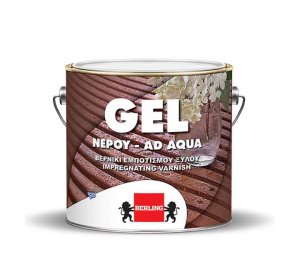 GEL NEPOY ΠΡΑΣΙΝΟ 0.75Lt -Βερνίκι ξύλου εμποτισμού