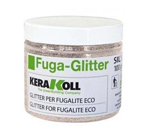 Fuga glitter silver 100gr Ασημί Γκλίτερ για αρμόστοκο