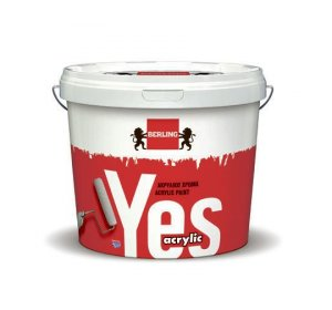 YES 9lt-Υδατοδιάλυτο 100% ακρυλικό χρώμα