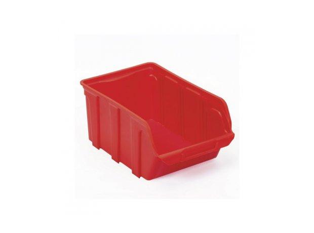 Tekni Κόκκινο Σκαφάκι πλαστικό, 10x16x7mm