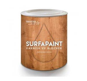 SurfaPaint Wood Varnish UV Blocker Αδιαβροχοποίηση ξύλου