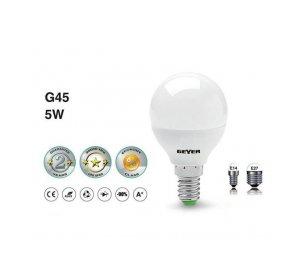LED G45 E14 5W 4500LM 3000K Λευκό Θερμό