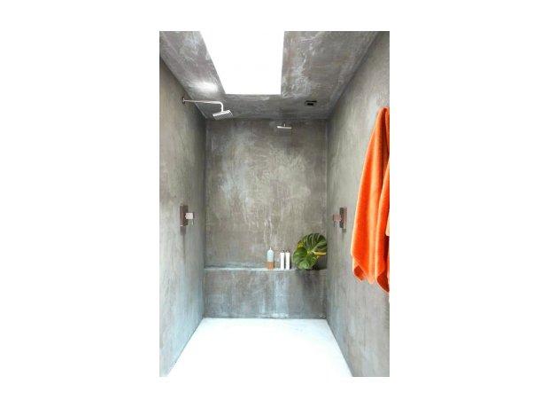 Πατητή τσιμεντοκονία μπάνιο κουζίνα διακόσμηση τοίχος δάπεδο