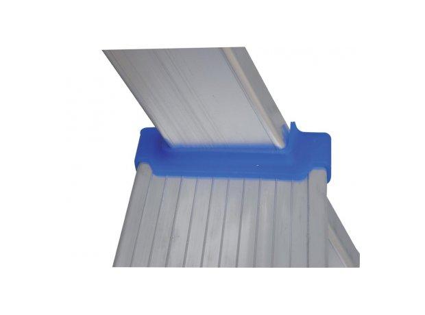 Σκάλα αλουμινίου λεπτομέρεια πατήματος