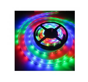 LED ταινία 5m 7.2W/m 12V RGB ΙΡ65 Αυτοκόλλητη στεγανή