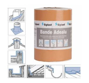 BANDE ADEALU κεραμιδί 10mx15cm-Αυτοκόλλητες ασφαλτικές ταινίες