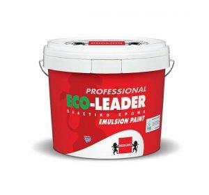 ECO-LEADER PROFESSIONAL Λευκό 0.75lt-Οικολογικό, πλαστικό χρώμα