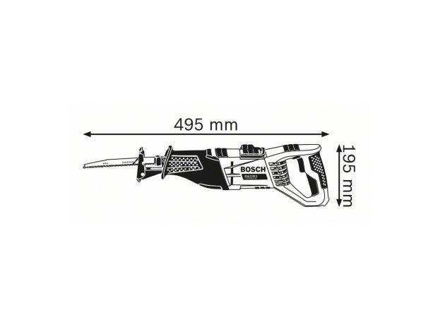 GSA 1100 E Professional διαστάσεις