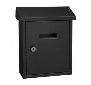 Easy, Γραμματοκιβώτιο, 190x80x255mm, Μαύρο