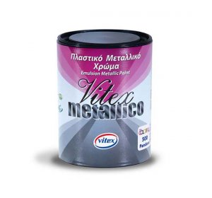Metallico 700ml Χρώμα για τεχνοτροπία μεταλιζέ. 530 Selene