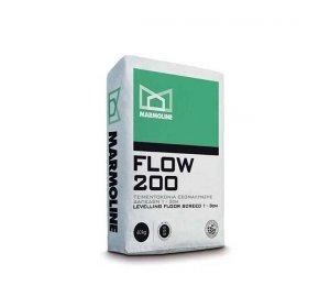 FLOW 200 40kg -Τσιμεντοκονία Εξομάλυνσης Δαπέδου 1-3cm