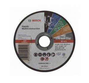 Rapido Φ125mmx1mm Δίσκος κοπής πολλαπλών εφαρμογών