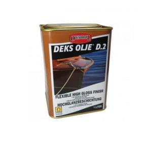 D2 1L-Βερνίκι εμποτισμού λαδιού γυαλιστερό για ξυλεία