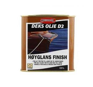 D2 2,5L-Βερνίκι εμποτισμού λαδιού γυαλιστερό για ξυλεία
