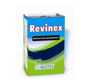 REVINEX 5kg-Συμπολυμερές γαλάκτωμα βελτίωσης κονιαμάτων & υγρών