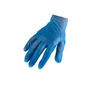 Γάντια βινυλίου μπλε