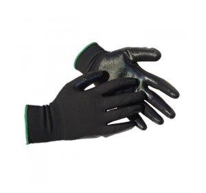 Γάντια Νιτριλίου αντιολισθητικά Νο10 Μαυρο