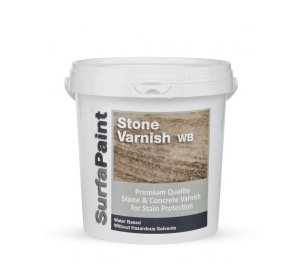 SurfaPaint Stone Varnish WB 10L Βερνίκι πέτρας,τσιμέντου, κεραμικών