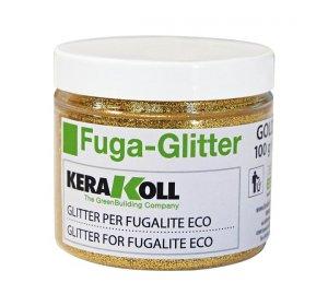 Fuga glitter gold 100gr Χρυσό Γκλίτερ για αρμόστοκο