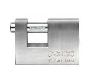 ABUS 82 TITALIUM, 82ΤΙ/70Β, Λουκέτο αλουμινίου (Τάκος)