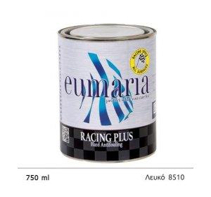 EUMARIA RACING PLUS WHITE 750ML- Υφαλόχρωμα σκληρό Yψηλών ταχυτήτων Ναυτιλιακά είδη Λευκό, άσπρο