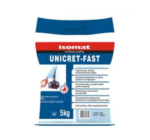 UNICRET-FAST white 5kg fast-setting mortar