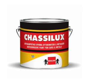 CHASSILUX 2,5L Αντισκωριακό υπόστρωμα. Λευκό