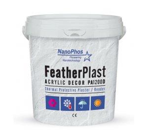 FeatherPlast PA1200D 18L θερμοπροστατευτικός ακρυλικός σοβάς