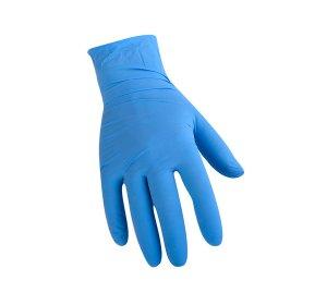 Γάντια Νιτριλίου μπλε