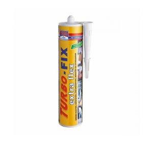 TURBO-FIX extra flex 290ml Λευκό Σφραγιστικό μόνιμα ελαστικό