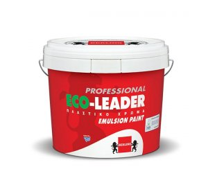 ECO-LEADER PROFESSIONAL Λευκό 10lt-Οικολογικό, πλαστικό χρώμα