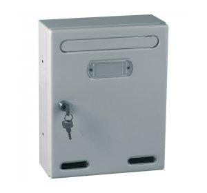 Personal, Γραμματοκιβώτιο, 190x80x255mm, Ασημί