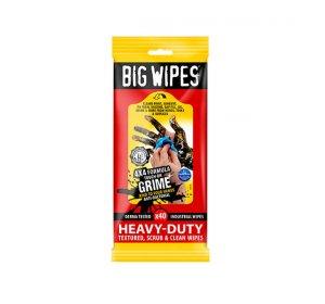 BIG WIPES heavy duty υγρά μαντηλάκια καθαρισμού 40τμχ
