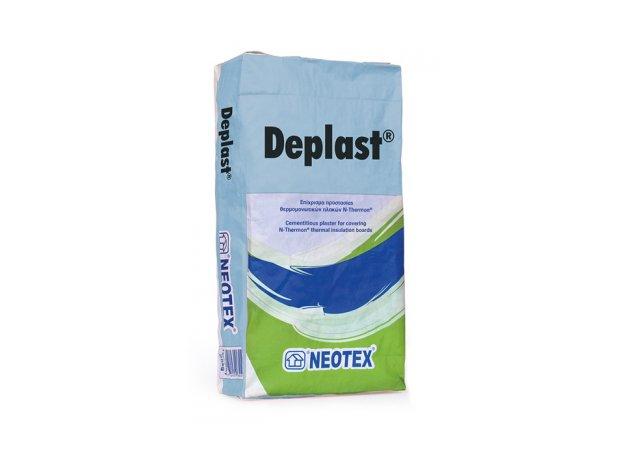 Deplast. Σοβάς uψηλής Ελαστικότητας, ρητινούχος, πυράντοχος. 25kg
