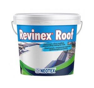Revinex Roof 5kg Ελαστομερές ακρυλικό για ταράτσες. Λευκό