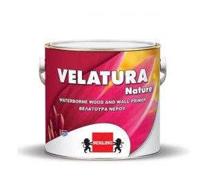 VELATURA Nature 2.5lt- Για ξύλινες & δομικές επιφάνειες