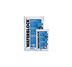 WATERBLOCK Γκρι 25kg- Ανόργανο επαλειφόμενο στεγανωτικό κονίαμα